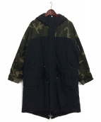 SWAGGER(スワッガ)の古着「MODS DOLMAN TRANSFORM COAT」|ブラック
