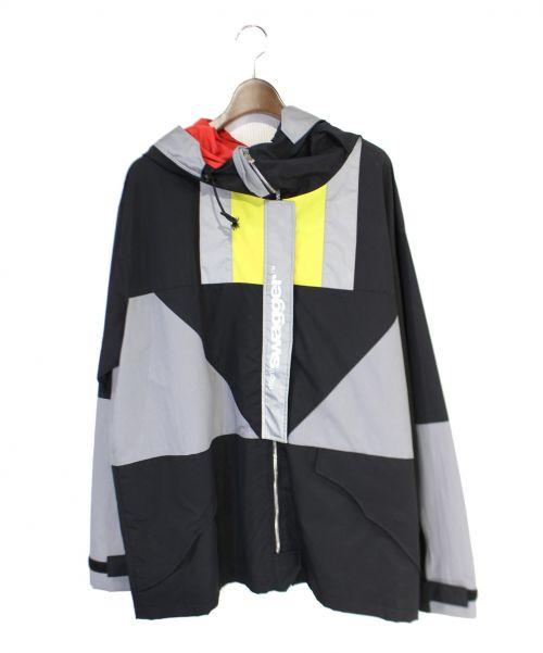 SWAGGER(スワッガー)SWAGGER (スワッガー) ナイロンジャケット ブラック サイズ:Lの古着・服飾アイテム