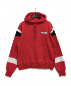 SWAGGER()の古着「SWITCHED P/O HOODIE」|レッド