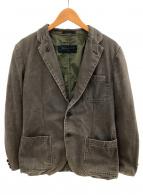 ()の古着「リバーシブルジャケット」 ブラウン×オリーブ