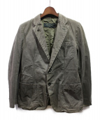 COMME des GARCONS HOMME(コムデギャルソンオム)の古着「リバーシブルジャケット」|ブラウン×オリーブ