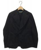 JUNYA WATANABE COMME des GARCONS(ジュンヤワタナベ コムデギャルソン)の古着「カットオフジャケット」 ブラック