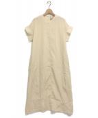 MAISON SPECIAL(メゾンスペシャル)の古着「ヴィンテージワッシャータックドレス」|アイボリー
