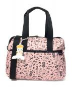LeSportsac(レスポートサック)の古着「2WAYバッグ」|ピンク