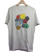 Martin Margiela 10(マルタンマルジェラ10)の古着「プリントTシャツ」|グレー