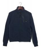 C.P COMPANY(シーピーカンパニ)の古着「ダウン切替ジャケット」|ネイビー