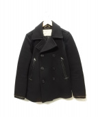 COOTIE(クーティー)の古着「Pコート」 ブラック