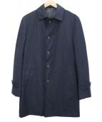 THE SUIT COMPANY(ザスーツカンパニ)の古着「ステンカラーコート」|ネイビー