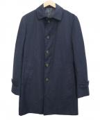 THE SUIT COMPANY(ザ・スーツカンパニー)の古着「ステンカラーコート」|ネイビー
