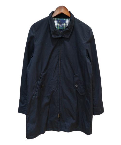 FRED PERRY(フレッドペリー)FRED PERRY (フレッドペリー) ハリントンマックジャケット ネイビー サイズ:SIZE Sの古着・服飾アイテム