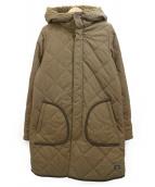 HELLY HANSEN(ヘリーハンセン)の古着「キルティングコート」|ベージュ