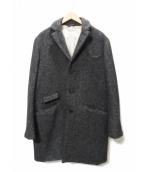 nestrobe confect(ネストローブ コンフェクト)の古着「ヘリンボーンコート」 グレー