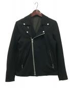 VANSON×TATRAS(バンソン×タトラス)の古着「ライダースジャケット」|ブラック
