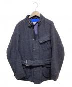 sage de cret(サージュデクレ)の古着「中綿フィールドジャケット」|ネイビー