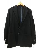 Mario Muscariello(マリオムスカリエッロ)の古着「ウール2Bジャケット」|ブラック