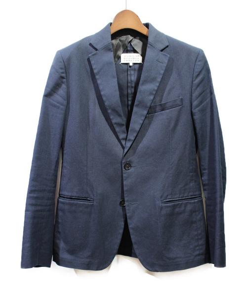 Maison Margiela(メゾンマルジェラ)Maison Margiela (メゾンマルジェラ) テーラードジャケット ネイビー サイズ:46 Slimの古着・服飾アイテム