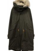 MARKA(マーカ)の古着「モッズコート」|オリーブ