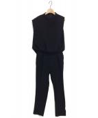 ENFOLD(エンフォルド)の古着「オールインワン」|ブラック