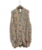 DOUBLE STANDARD CLOTHING(ダブルスタンダードクロージング)の古着「MIXニットカーディガン」