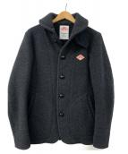DANTON(ダントン)の古着「ウールモッサシングルコート」|グレー