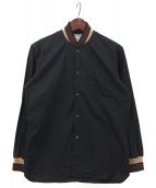 COMME des GARCONS SHIRT(コムデギャルソンシャツ)の古着「シャツブルゾン」|ブラック