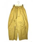 HARVESTY(ハーベスティー)の古着「サーカスパンツ」|ブラウン