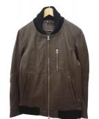 SABLE CLUTCH(セーブルクラッチ)の古着「レザージャケット」|ブラウン