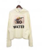 A-COLD-WALL(ア コールド ウォール)の古着「NO WATER HOODIE」 アイボリー