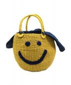 a-jolie(アジョリー)の古着「スマイルハンドバッグ」|イエロー