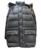 Traditional Weatherwear(トラディショナル ウェザーウェア)の古着「ファー付ダウンコート」|グレー