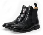 SANDERS(サンダース)の古着「サイドゴアブーツ」|ブラック