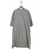 MHL(エムエイチエル)の古着「ワンピース」 グレー
