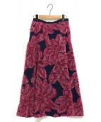 ELENDEEK(エレンディーク)の古着「フラワージャガードスカート」