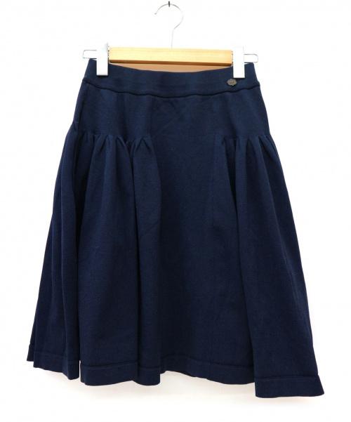 FOXEY(フォクシー)FOXEY (フォクシー) スカート ネイビー サイズ:40 未使用品 日本製の古着・服飾アイテム