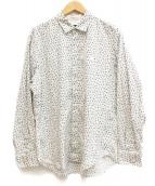 BLACK LABEL CRESTBRIDGE(ブラックレーベルクレストブリッジ)の古着「総柄シャツ」|ホワイト