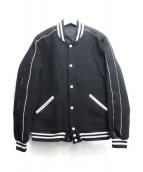 Rags McGREGOR(ラグスマックレガー)の古着「スタジャン」 ブラック
