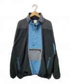 X-GIRL(エックスガール)の古着「フリースプルオーバージャケット」|ブラック
