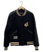 COACH(コーチ)の古着「バーシティジャケット」|ブラック
