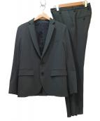 STUDIOUS(ステュディオス)の古着「2Bスーツ」|カーキ