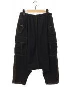 tricot COMME des GARCONS(トリコ コムデギャルソン)の古着「サルエルカーゴパンツ」|ブラック