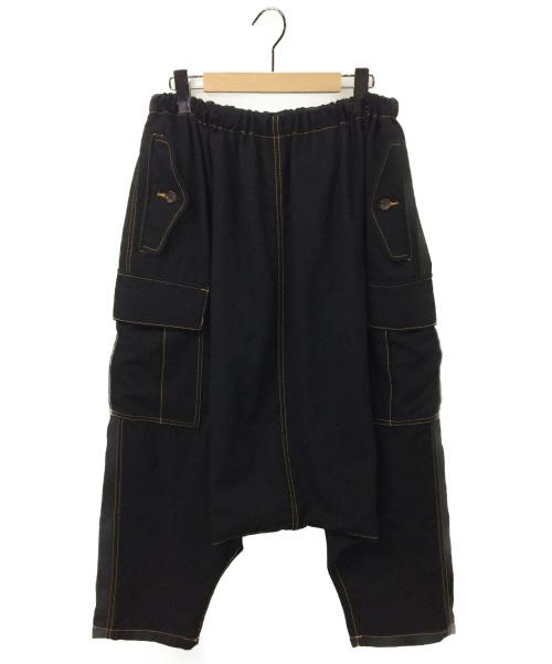 tricot COMME des GARCONS(トリココムデギャルソン)tricot COMME des GARCONS (トリコ コムデギャルソン) サルエルカーゴパンツ ブラック サイズ:- TL-P021 2013AWの古着・服飾アイテム