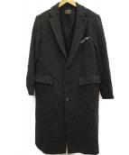 SUBCIETY(サブサエティ)の古着「ウールチェスターコート」|グレー