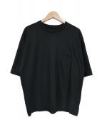 08sircus(08サーカス)の古着「スリークオータージャージビッグTシャツ」 ブラック