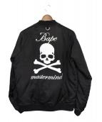 Mastermind JAPAN(マスターマインドジャパン)の古着「スカジャン」|ブラック