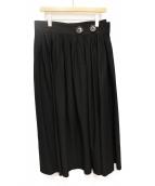Y's(ワイズ)の古着「ラップスカート」|ブラック