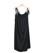 Y's(ワイズ)の古着「キャミソールワンピース」|ブラック