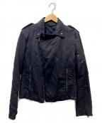 NEIL BARRETT(ニールバレット)の古着「ライダースジャケット」 ブラック