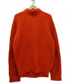 TOMORROW LAND tricot(トゥモローランドトリコ)の古着「スポンディッシュメリノハイネックニット」|オレンジ