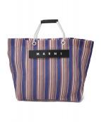 MARNI(マルニ)の古着「カフェトートバッグ」|ネイビー