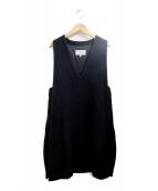 Maison Margiela 4(メゾンマルジェラ4)の古着「ノースリーブワンピース」|ブラック